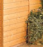 This Rowlinson Premier 7X5 apex garden shed is built using 12mm tongue & groove shiplap. This shed is ideal and has plenty of storage space for your garden furniture and tools.
